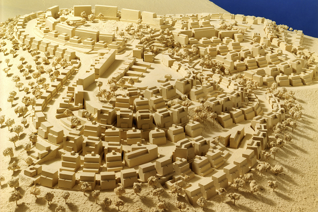 הר חומה ירושלים תכנון אדריכלי קולקר אפשטין