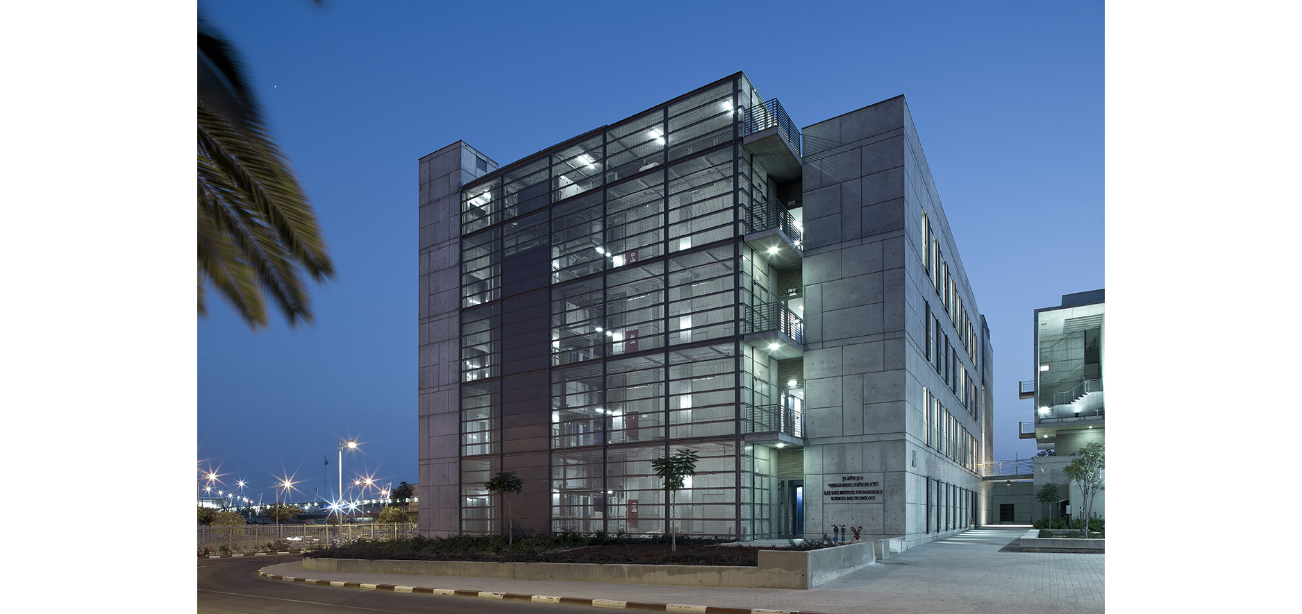 Nano Technologia Science and Technology BGU by Kolker Epstein Architect8